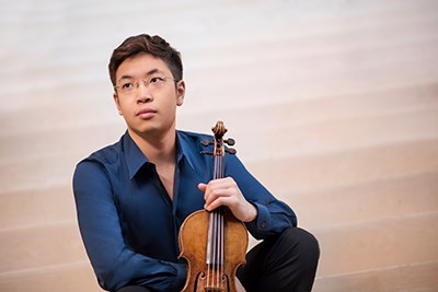 Paul Huang Performs Khachaturian's Violin Concerto
