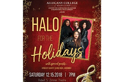 HALO for the Holidays Poster