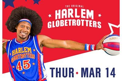 Harlem Globetrotters World Tour poster