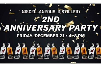 MISCellaneous Distillery Anniversary Poster