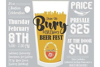 Febrewary Bury Beer Fest poster