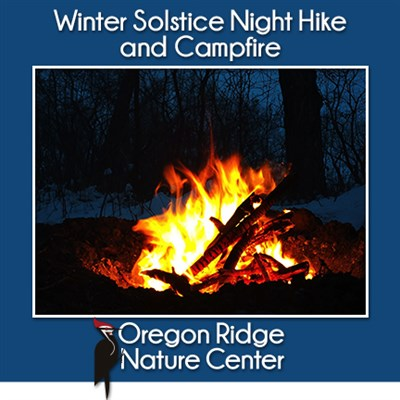 Winter Solstice Night Hike Poster