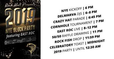 NYE Block Party featuring East Rock Poster