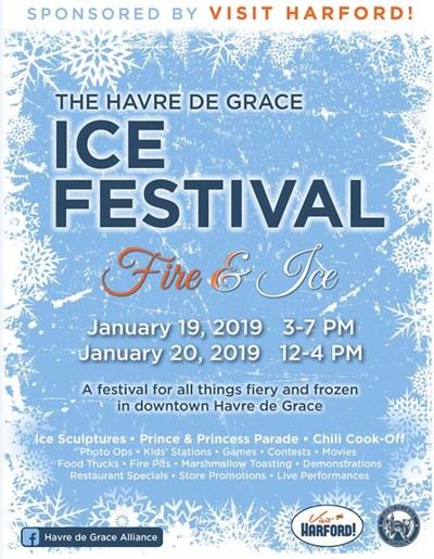Flyer for Ice Festival