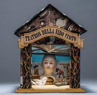 assemblage art: Teatro della Nido Vuoto