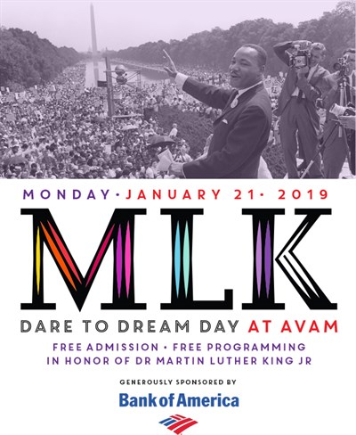 MLK Dare to Dream Day at AVAM
