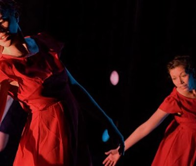 Dancers at the Gordon Center