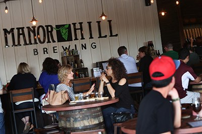 Manor Hill Brewing Tap Room