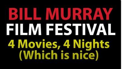 4 Films, 4 nights film festival poster