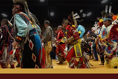 Pow Wow for St. Labre Indian School Poster