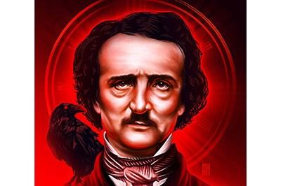 Edgar Allan Poe's 210th Birthday Poster