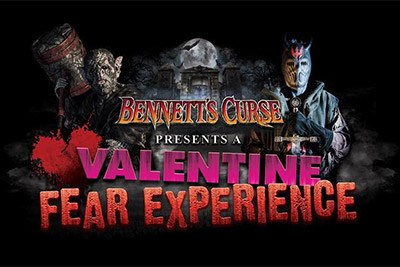 Bennett's Curse Haunted House Valentine Fear Poster