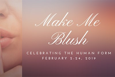 Make Me Blush Event Poster