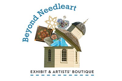 Beyond Needleart Exhibit Logo