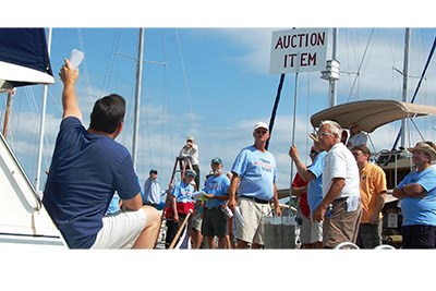 CBMM's annual charity boat auction