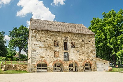 The Historic Stone Barn at Woodlawn