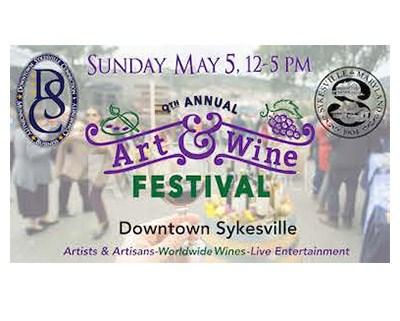 Art & Wine Festival Poster