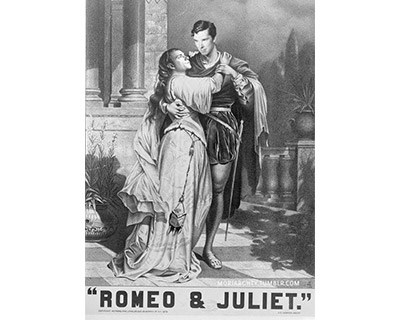 Shakespeare's Lovers Romeo and Juliet