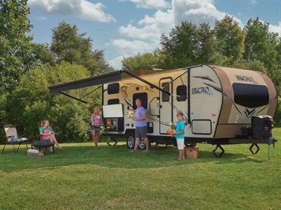 Family Camping in a MicroLite