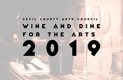 Wine and Dine for the Arts Logo