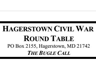 Hagerstown Civil War Round Table sign