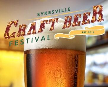 Sykesville Craft Beer Festival Poster