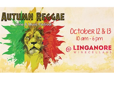 Autumn Reggae Wine & Music Festival poster