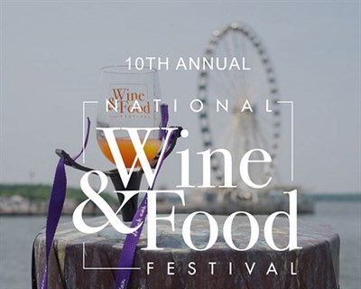 National Wine and Food Festival poster
