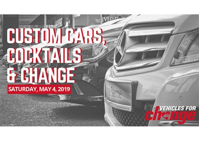 Custom Cars, Cocktails & Change poster