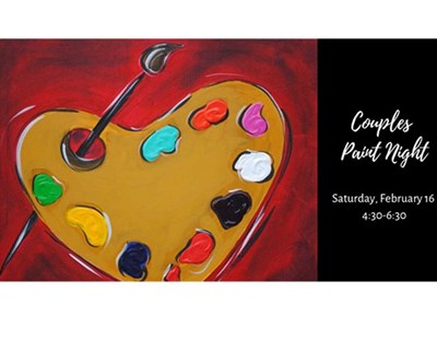 Couples Paint Night poster