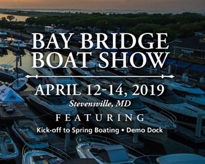 Bay Bridge Boat Show poster
