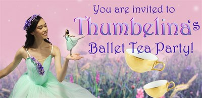 Thumbelina's Ballet Tea Party poster