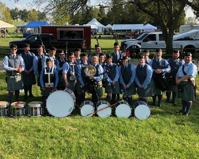 Courtesy of Ceól Néamh Pipe Band/SOMD Celtic Festival