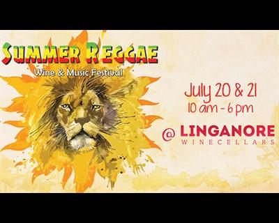 Summer Reggae Wine & Music Festival poster
