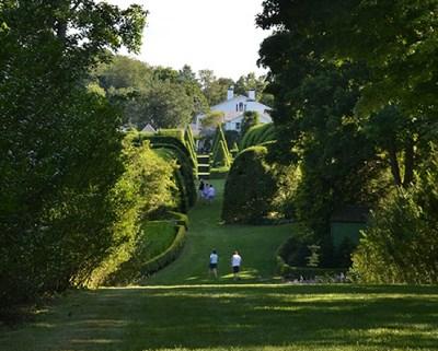 People Strolling Ladew Gardens