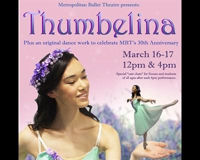 Thumbelina's Ballet poster
