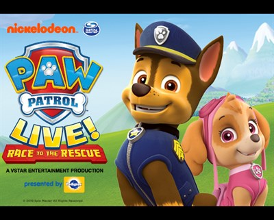PAW Patrol Live Race to the Rescue poster