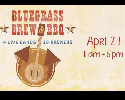 Bluegrass Brew & BBQ poster