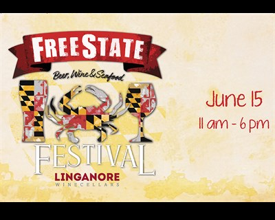 FreeState Beer, Wine & Seafood Festival poster