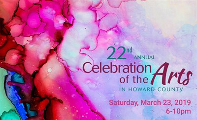22nd Annual Celebration of the Arts in Howard County title graphic