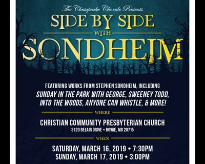 Side by Side with Sondheim poster