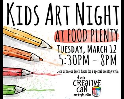Kids Art Poster