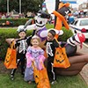 Kids Enjoying Trick-or-Treat on the Square