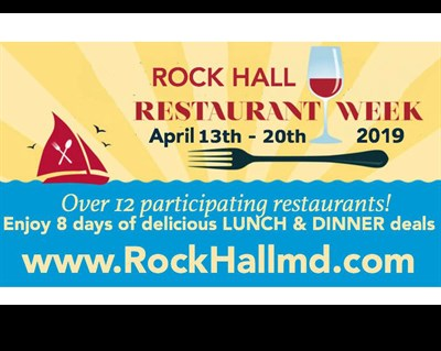 Restaurant Week Rock Hall poster