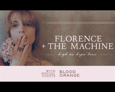 Florence + The Machine High as Hope Tour poster