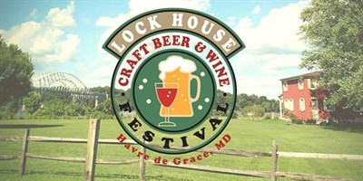 Lock House Craft Beer & Wine Festival poster