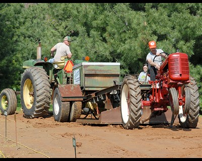 The Antique Tractor Pull