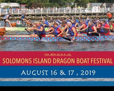 Solomons Island Dragon Boat Races poster