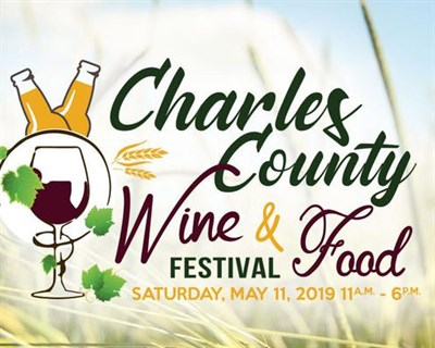 Charles County Wine & Food poster
