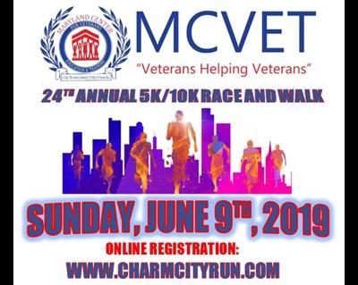 MCVET's 5k/10k Race and Walk flyer